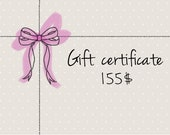 Gift card- Unique christmas gifts- Gift certificate