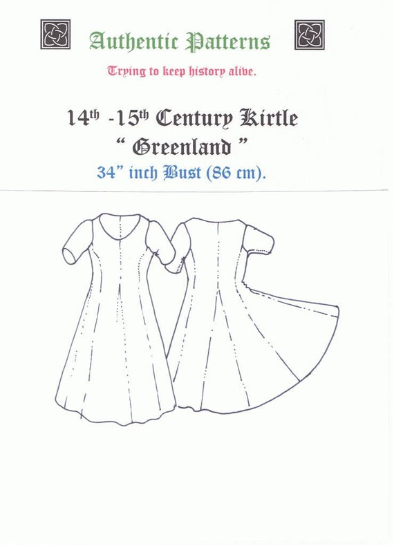 "14th & 15th Century Kirtle "" Greenland"