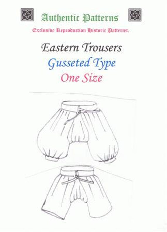 17th Century Eastern Trousers.