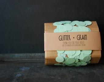 25' Paper & Thread Garland: Mint