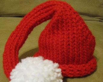 Baby Boy Girl Hat-Knit Christmas Elf Hat