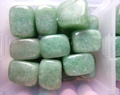 8X12MM Green Aventurine gemstone nugget beads - 10 beads
