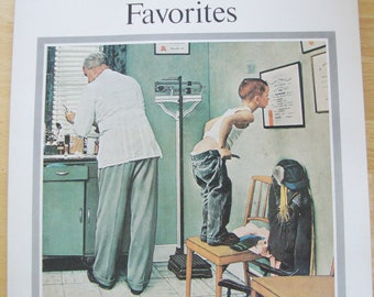 Fifty Norman Rockwell Favorites by Norman Rockwell, 1978, Paperback