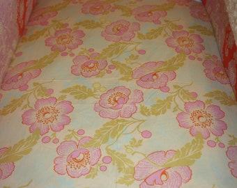 Amy Butler Fresh Poppy Crib Sheet