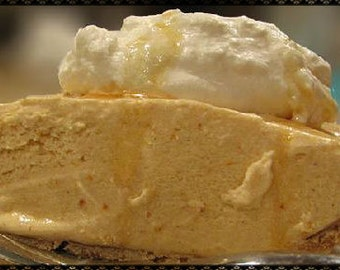 Amish Pumpkin Ice Cream Pie Recipe~~~Instant Download