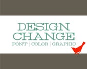 DESIGN Modification: Add Photo, Change Color Scheme - 104204263