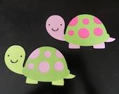 Turtle die cuts