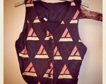 1970s Art Deco Vest