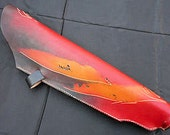 Traditional leather quiver for arrows and archery, 100 % handmade