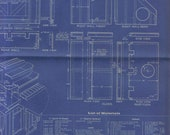 1960 Playhouse Blueprint from Popular Science Magazine