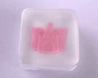 Princess Castle Soap Favors