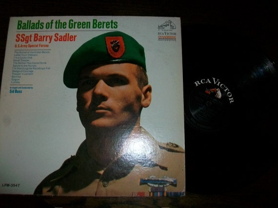 the letter black ssgt barry sadler ballads of the green berets by 25157 | il 570xN.357987279 rofa