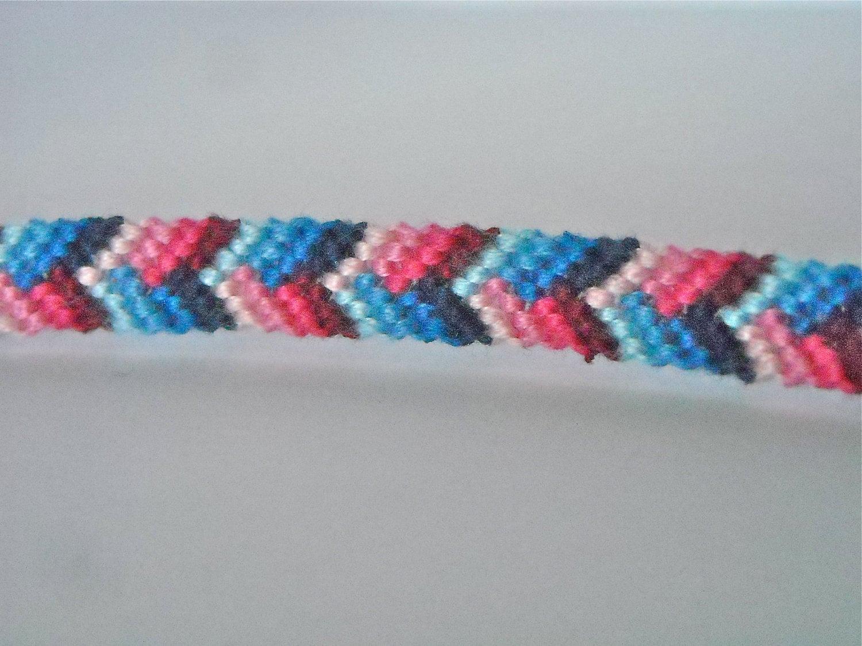 Fashion week Bracelets Friendship alternating chevron pictures for lady