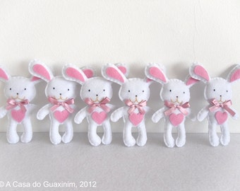 Party Favor - Bunnies - Set of 6