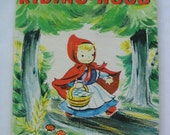 Little Red Riding Hood, Vintage Junior Elf Book, illustrated by Esther Friend
