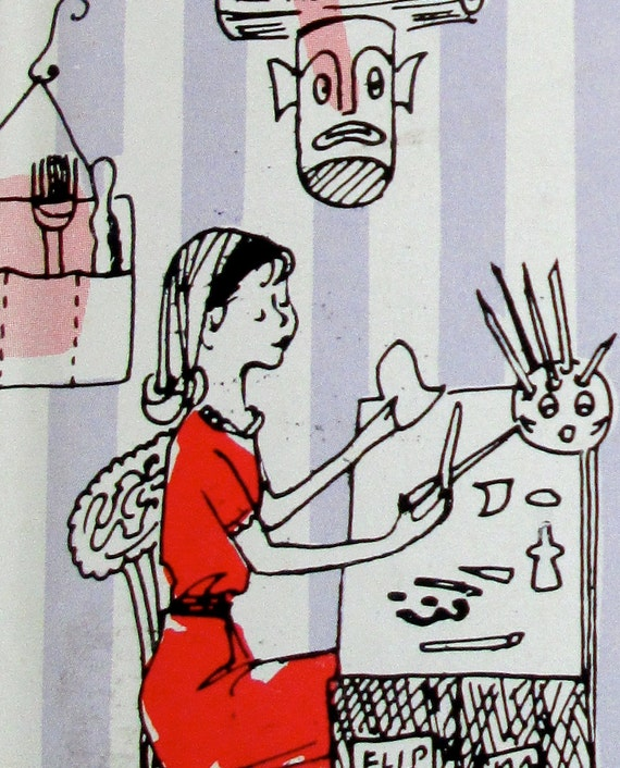 """1962 crafting book: """"Gadgets & Gifts for Girls to Make"""" - hardback with dust jacket"""