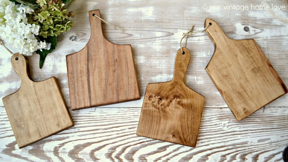 Mini French Bread Boards - Set of 4