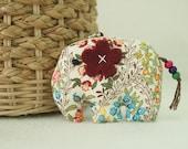 Thailand Handmade Japanese cotton 100% Elephant Keychain