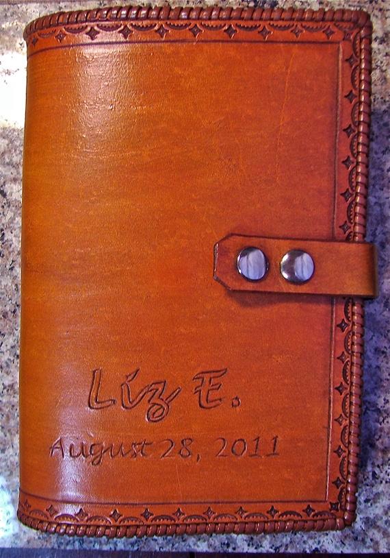 Single AA Big Book Leather Cover