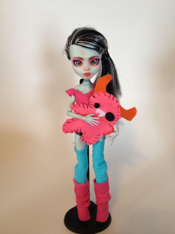 Monster Mash Fran Custom Frankie Monster High Doll