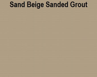 Mosaic Grout SANDED Sand Beige One Pound