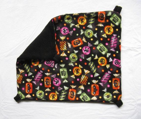 SALE - 50% off Halloween Bedding : Ferret hammock / hanging bed - medium