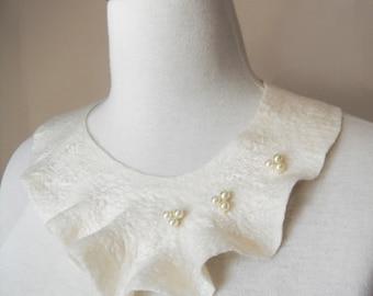 Bridal Bib Necklace Neck Piece Bib Collar