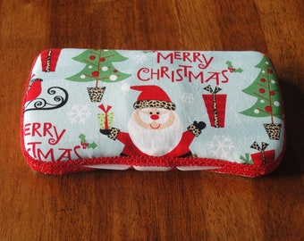Baby Wipes Case, Travel Wipes Case, Merry Christmas Wipes Case