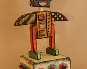 Musical Robot:  Brahm's Lullaby