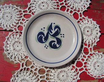 Vintage Scottish Buchan Pottery Stoneware Iona Plate
