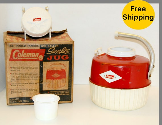 Vintage Coleman Jug with Original Box