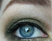 Shire eyeshadow- olive-gold w/ copper duochrome
