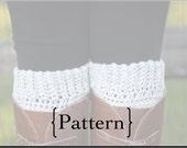 Crochet Pattern- Ridge Boot Cuffs