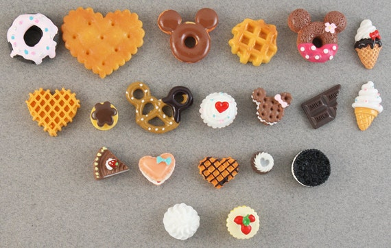 """SUPER SALE - """"Chocolate & More"""" Sweets Deco Yummy Mix - 20 piece set"""