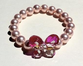 Mco Rosaline Butterfly Bracelet