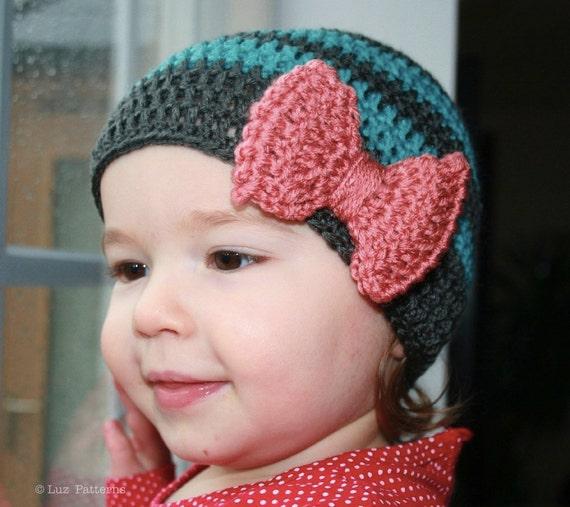 Crochet Pattern Crochet Baby Hat Pattern Vintage Inspired