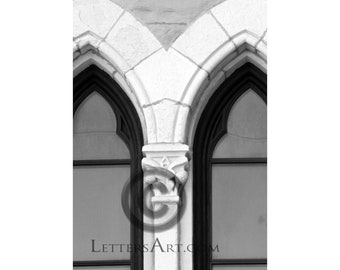 View printable t z by lettersart on etsy for Architectural letter photos