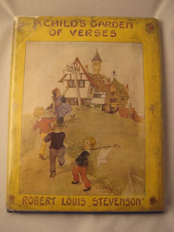 A Child 39 S Garden Of Verses By Robert Louis Stevenson By Steamcrunk