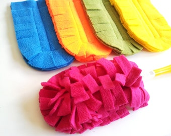 READY TO SHIP, 4 Reusable Swiffer Duster Cover -Pick the colors
