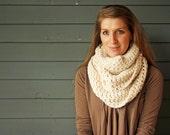 CUSTOMIZABLE Adult Chunky Crochet Infinity Scarf