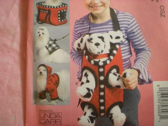 McCalls 6621, Cloth Dog Accessories,
