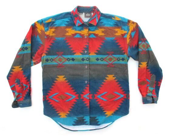 Vintage Woolrich Womens Navajo Shirt
