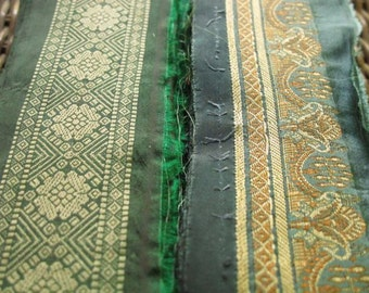 Silk Ribbon,Sari border,Sari Trim 2 colors, SR27