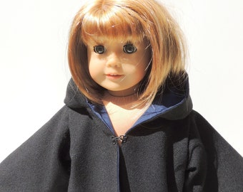 "Ravenclaw Harry Potter Cloak fits 18"" Dolls like American Girl"