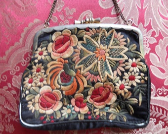 Vintage Embroided Purse