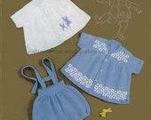 Knitted Romper Set Pattern PDF B022 from WonkyZebra