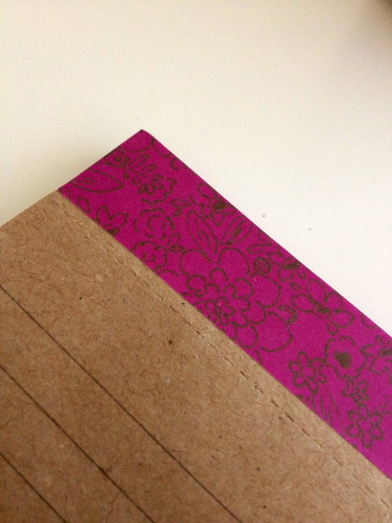Kraft Paper Notepad with Magnet