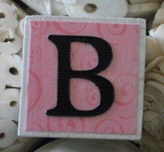 Reserved - Custom Order - Boy Name Block Set - Zebra