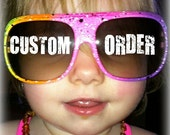 CUSTOM ORDER - listing for Jackie