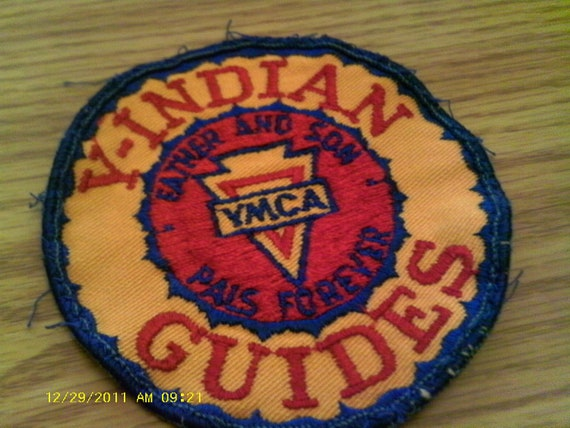 Vintage Indian Guide Patch